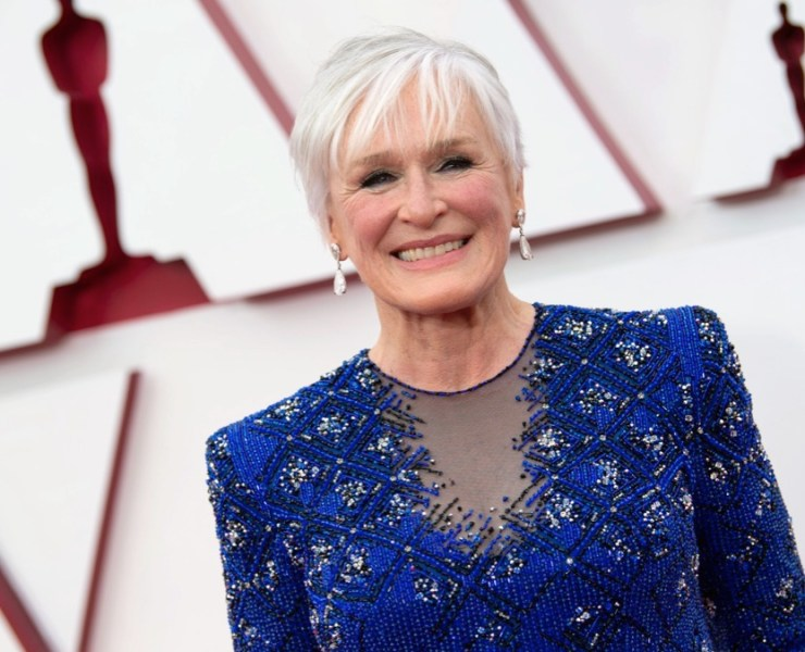 Glenn Close Oscars 2021