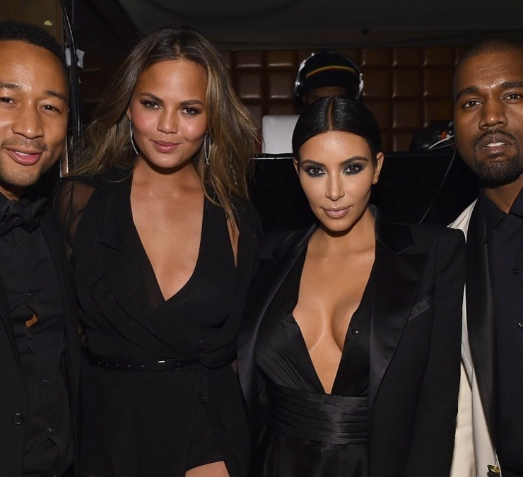 """Chrissy Teigen and John Legend Celebrates His Birthday And The 10th Anniversary Of His Debut Album """"Get Lifted"""" At CATCH NYC"""