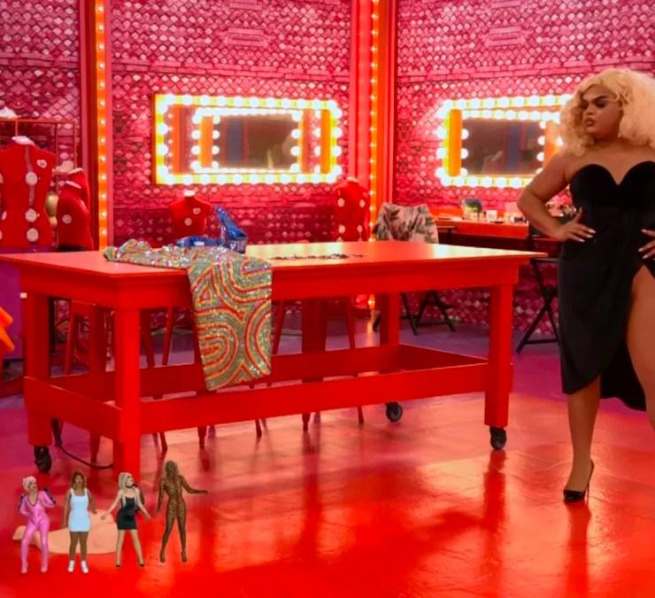 RuPaul's Drag Race Henny, I Shrunk the Drag Queens