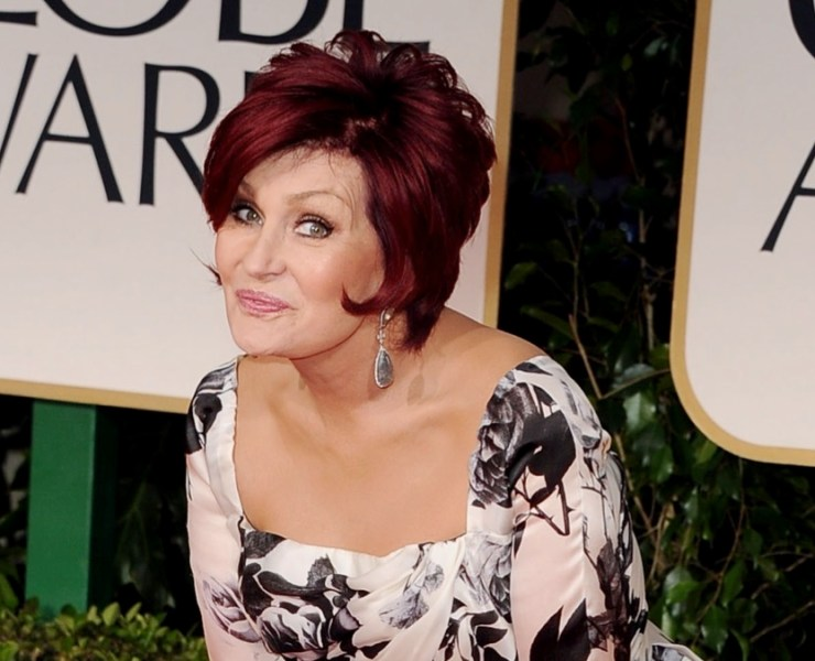 Sharon Osbourne 69th Annual Golden Globe Awards - Arrivals