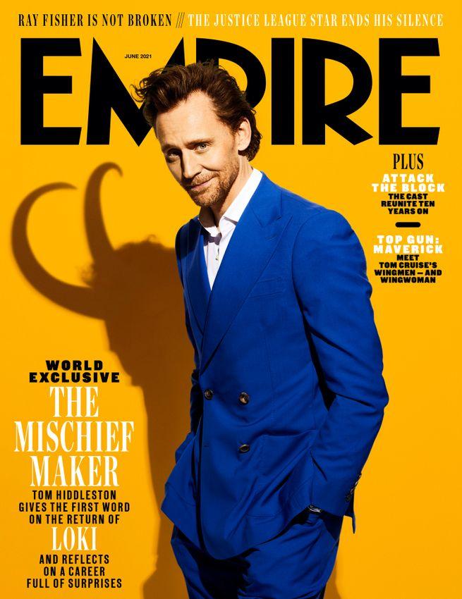 Tom Hiddleston covers Empire