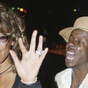 Whitney Houston and Bobby Brown VH1 Divas Duets Post Concert Party