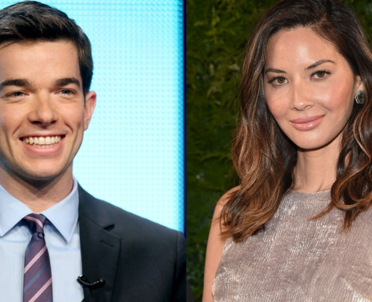 John Mulaney is dating Olivia Munn