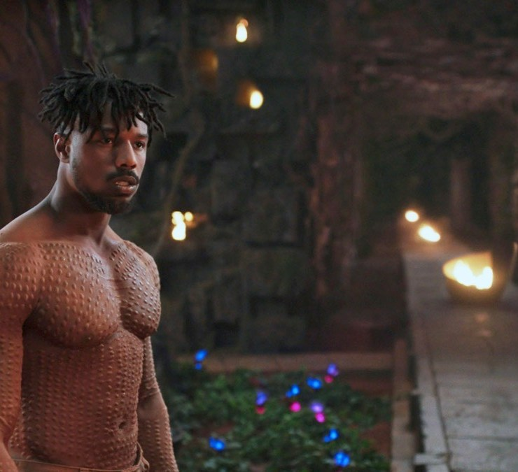 Michael B Jordan Black Panther