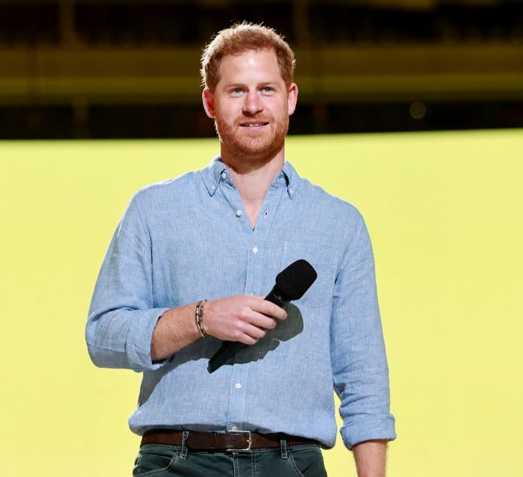 Prince Harry Global Citizen VAX LIVE: The Concert To Reunite The World