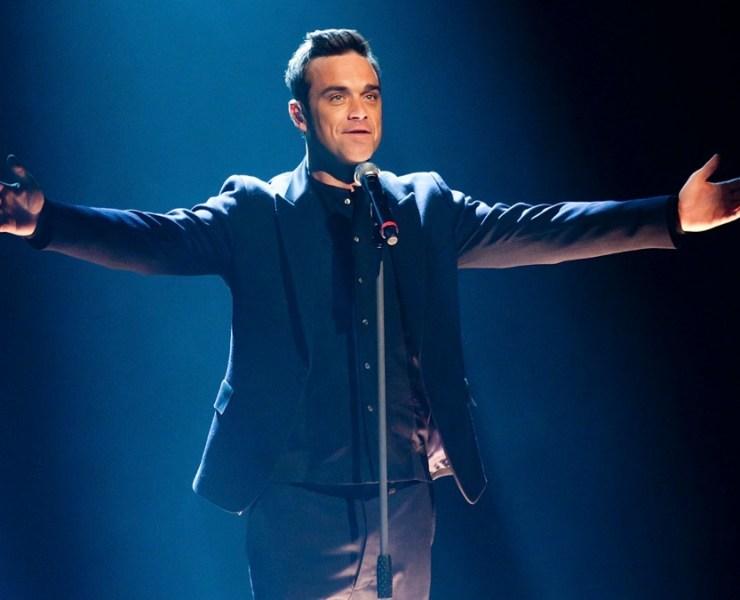 Robbie Williams Wetten Dass...? in Halle