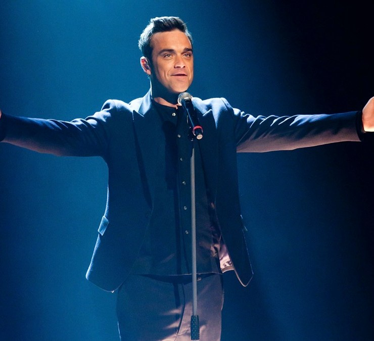 Robbie Williams Wetten Dass...? in Halle