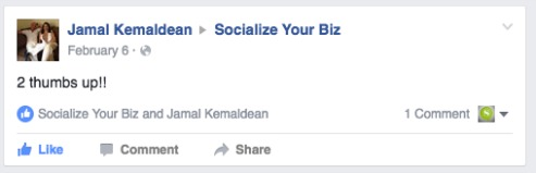 Jamal Socialize Your Biz