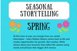 Seasonal Storytelling: Spring [Infographic]