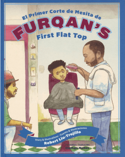 Furqans first flat top book cover