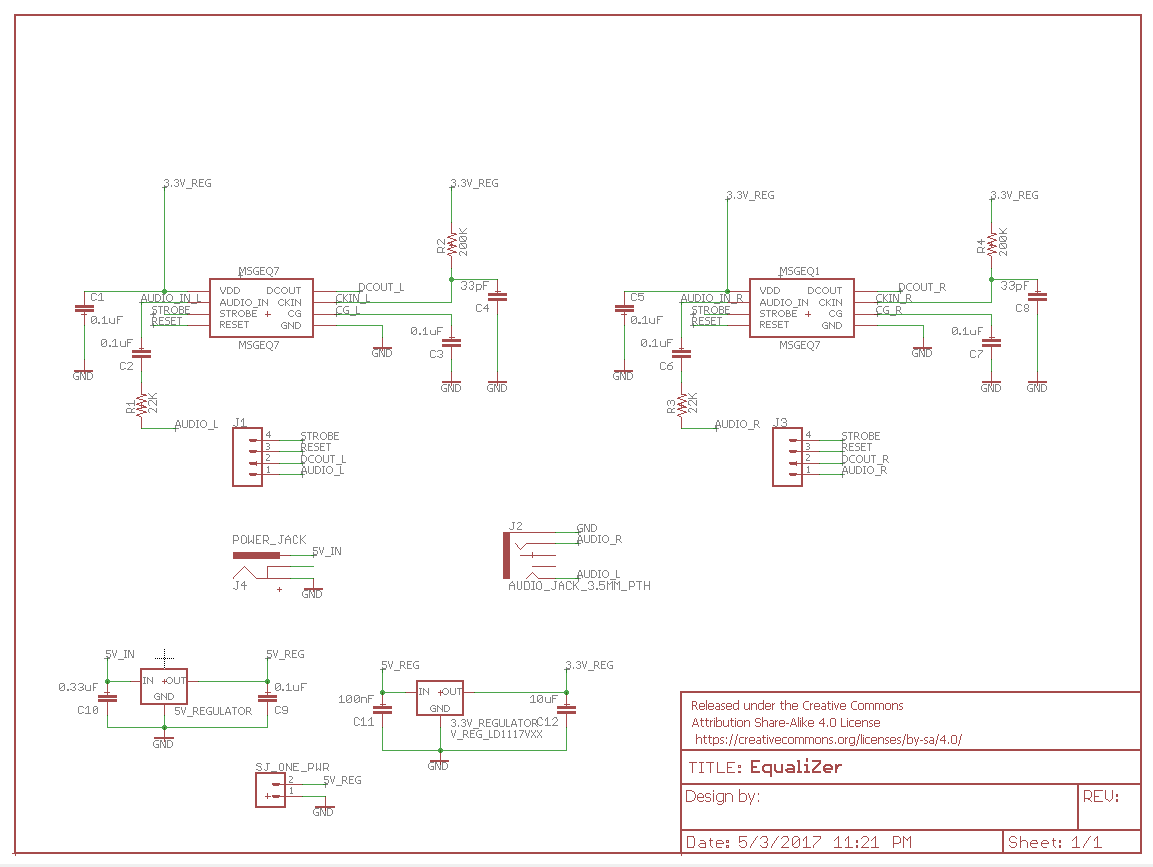 hight resolution of equalizer schematic