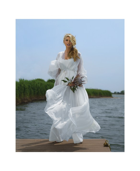 Dress by Rasario Swimwear by Marysia Pants by Zimmermann  Shoes by Zimmermann