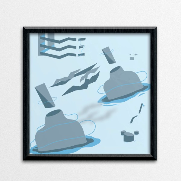 Social Living_the distance between us_art print