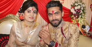 Ravindra jadeja got engaged