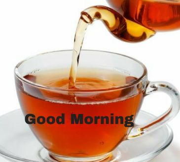 cute tea images of good morning free download