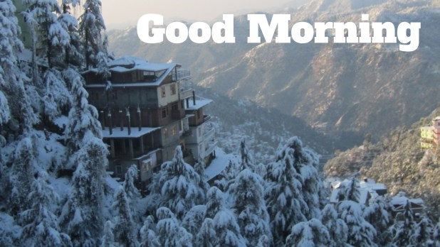 winter Good Morning Image|Wallpaper full-hd 1080p