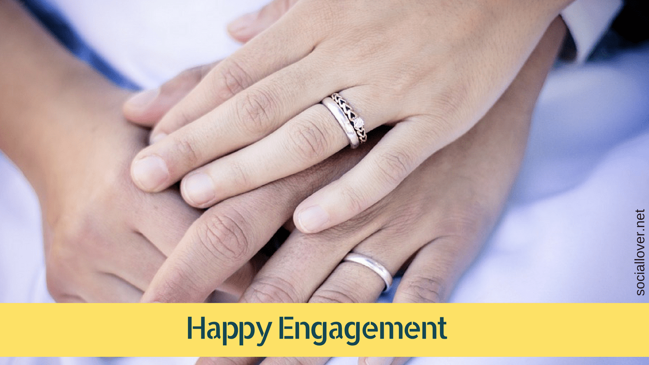 happy engagement images graphics for whatsapp facebook