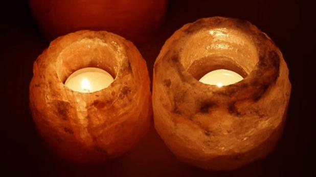 salt candle holder HD images