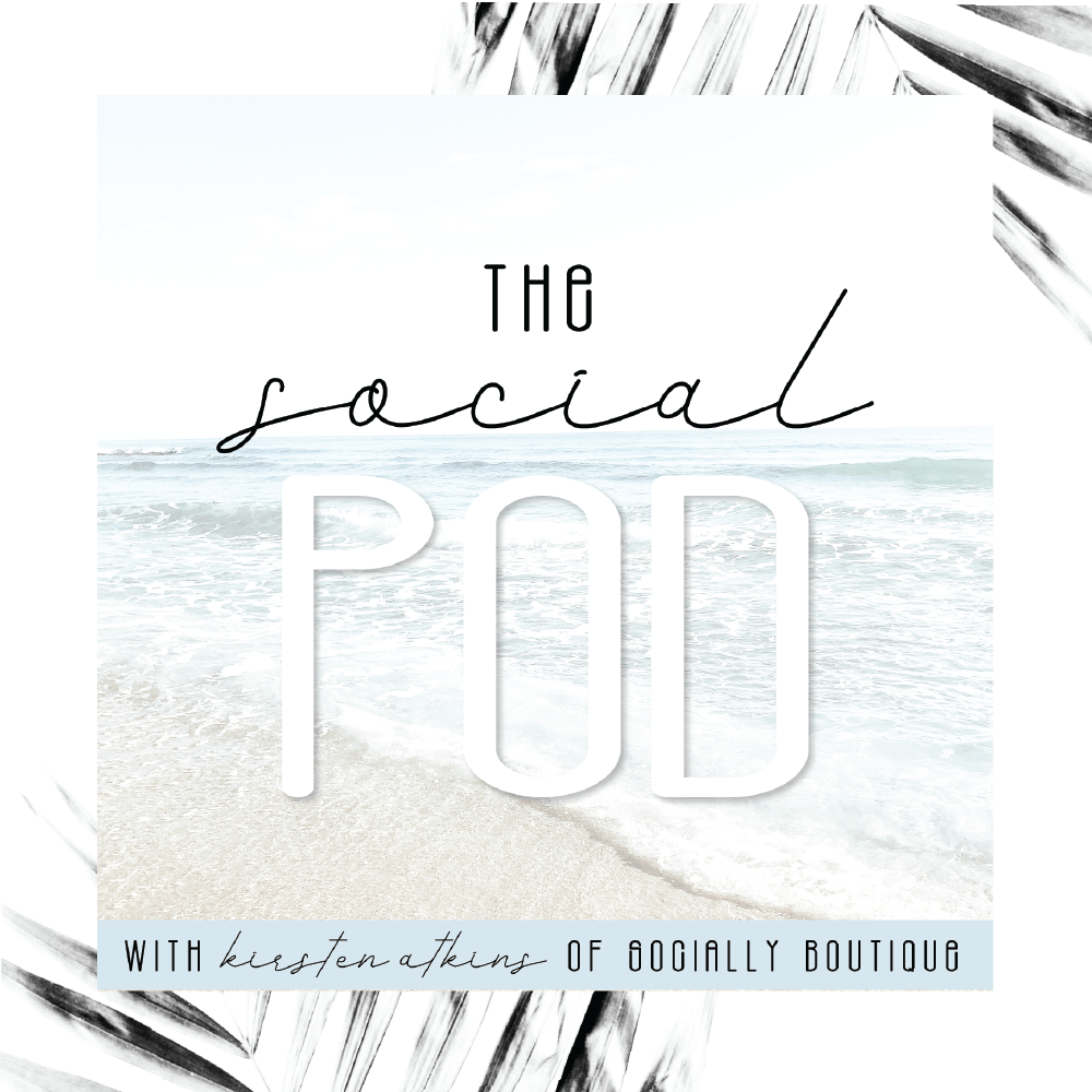 Listen to The Social Pod social media podcast on Apple Podcasts! by Socially Boutique hosted by Kirsten Atkins
