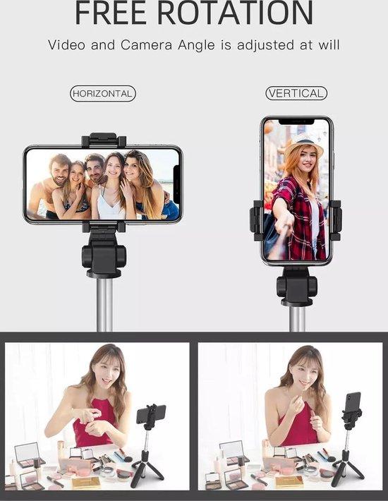 Bol.com Bluetooth Selfiestick fotograferen met je mobiel