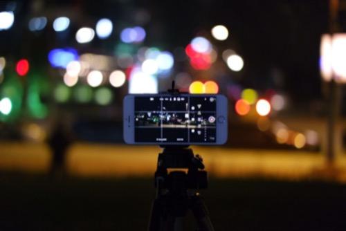 Regel van derden in de smartphone fotografie