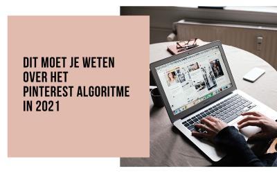 Hoe werkt het Pinterest algoritme in 2021