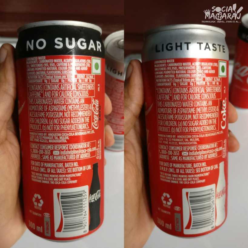 Coke Zero vs Diet Coke - the startling differences
