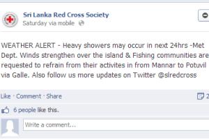 Redcross Facebook