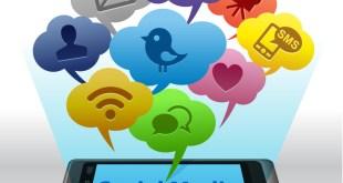 Social Media auf dem Smartphone - Facebook, Twitter & Co.