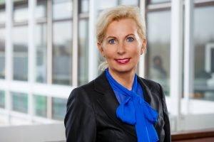 Frau Prof. Dr. Salmen im Interview mit dem Team des Social Media Balloons
