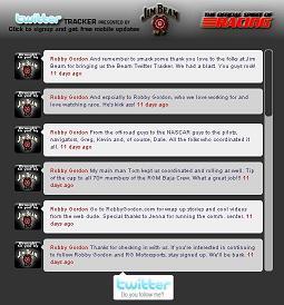 Beam Baja Twitter Tracker