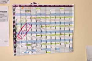 develop an editorial calendar