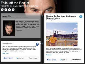 Falls, off the Rocker - Jason's personal blog