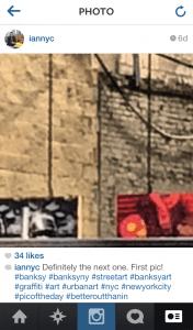 Banksy IG