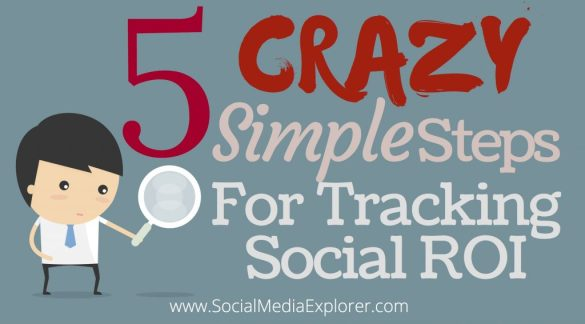 5 Crazy Simple Steps for Tracking Social ROI