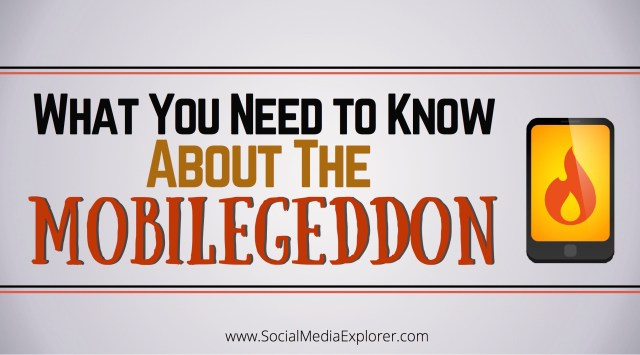 What You Need to Know About the Mobilegeddon