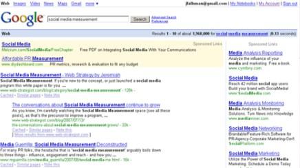 Screenshot: Google search