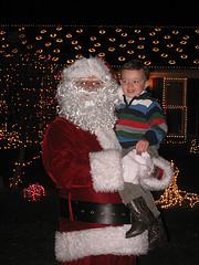 Grant and Santa