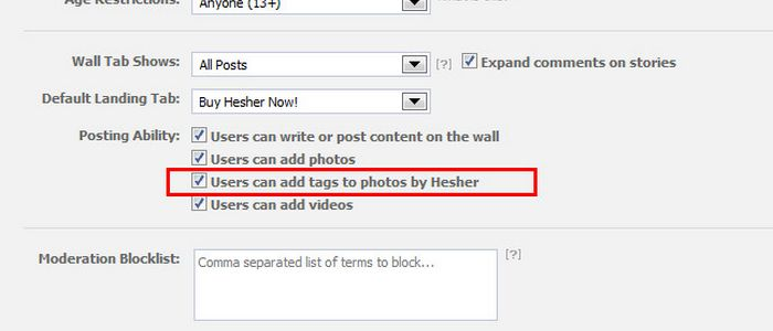 How To Run Facebook Contests Using Photo Tags For Fan Pages