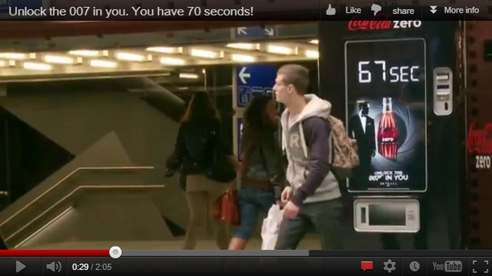 Unlock the 007 in you – New Skyfall Guerilla Tactic is GENIOUS!