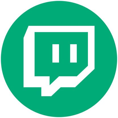 Twich - Mint Social Media Icon