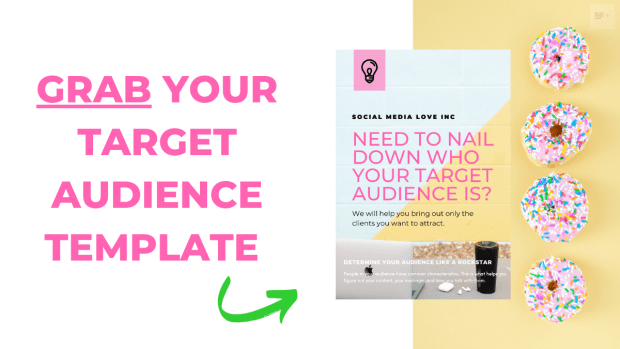You can download your Target Audience Template on the black button below. 👇