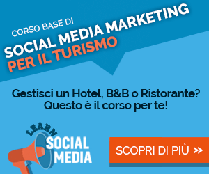 corso social media marketing turistico roma