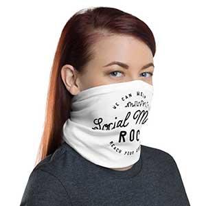 branded face mask service