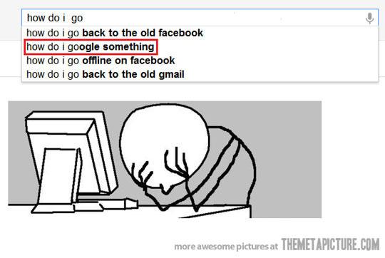 How Do I Google Something {MEME}