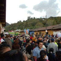 The Night of the Burning of the Devil In Antigua Guatemala Video