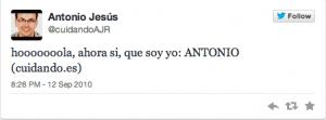 Antonio Jesus 1 tweet