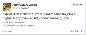 Chema Cepeda 1 tweet