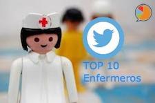 Top 10 Enfermeros Twitter SMT
