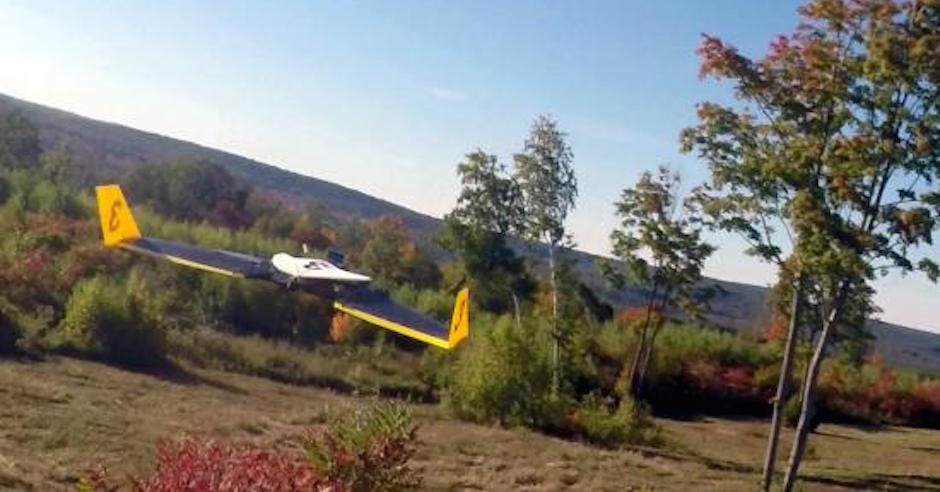 Watch This Epic Drone Chase Between One Autonomous Plane, and One Human-Piloted Plane